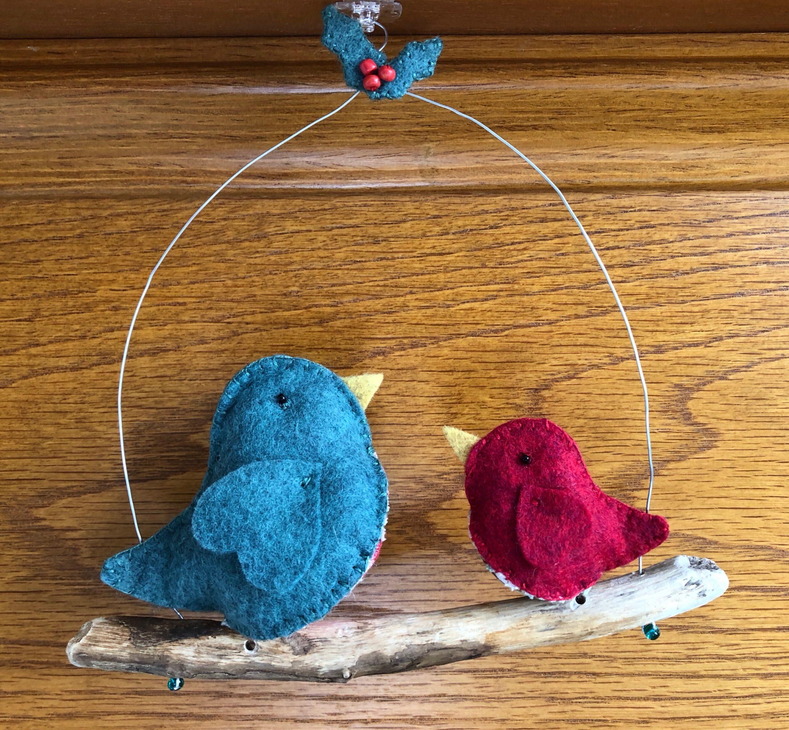 Christmas tweety-birds.