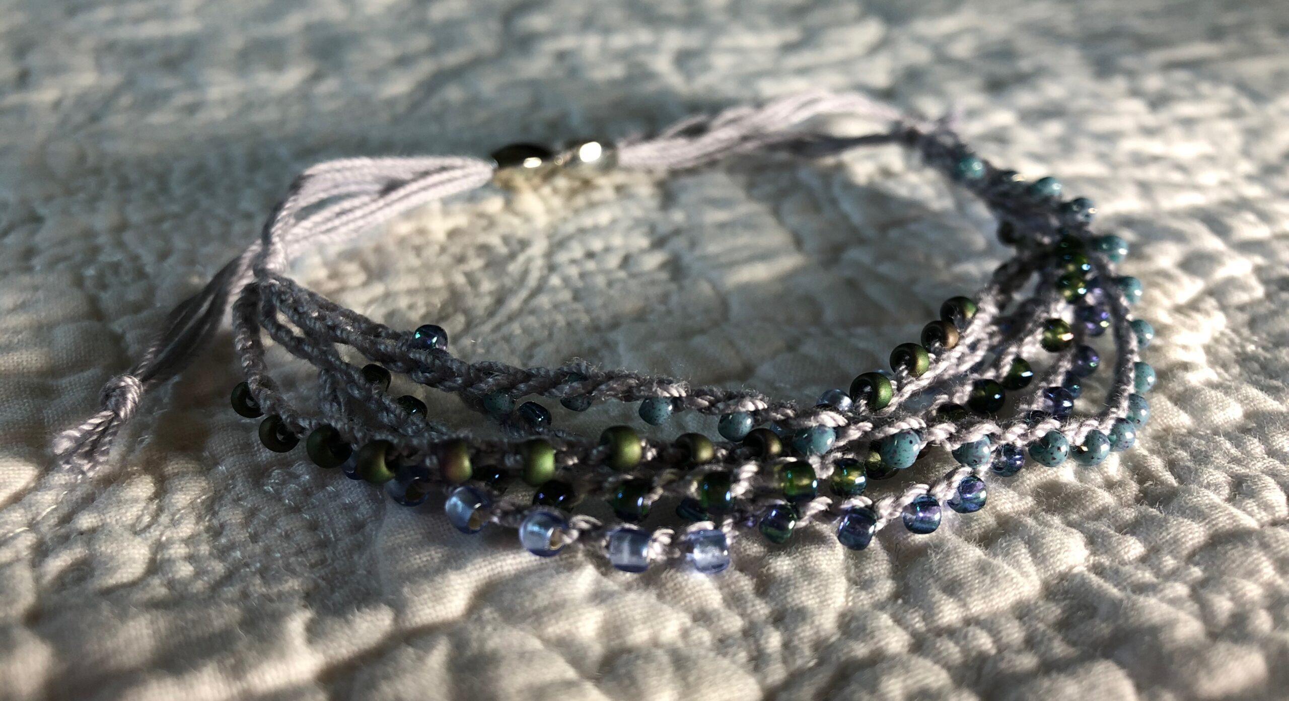 Stormy seas bracelet.