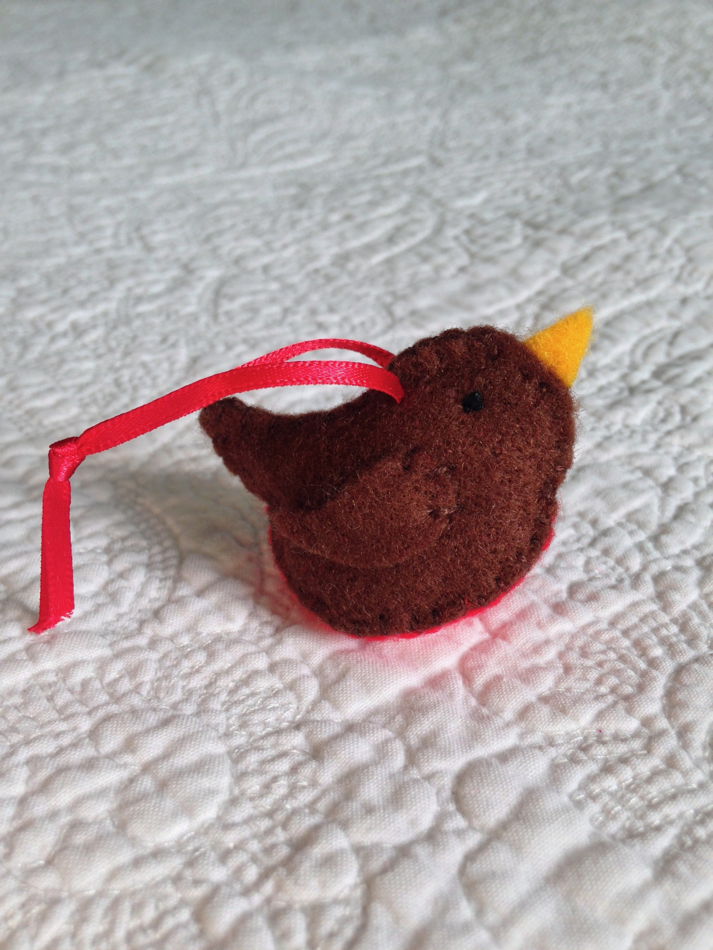 Little Robin hanging decoration.