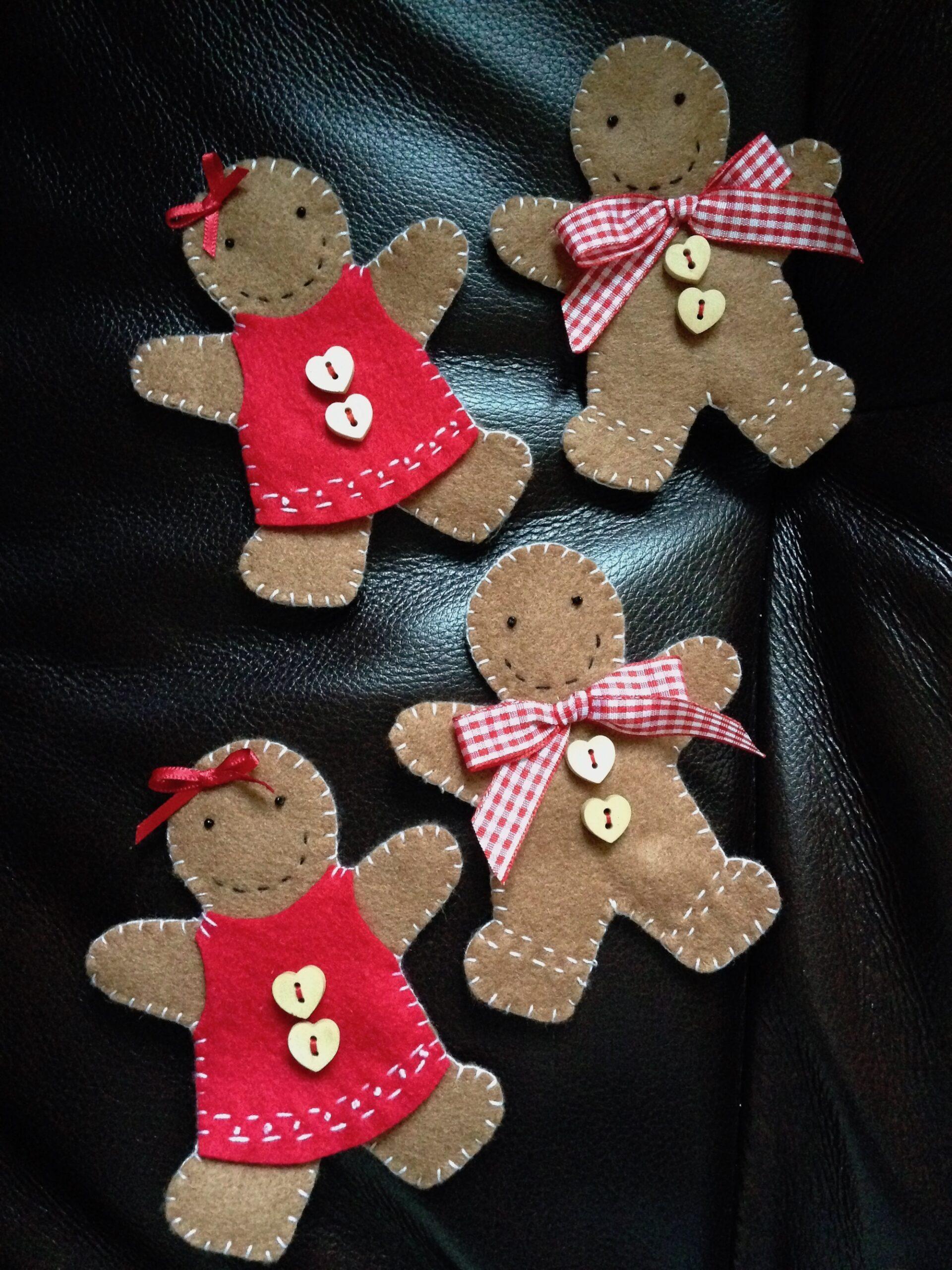 Gingerbread people.