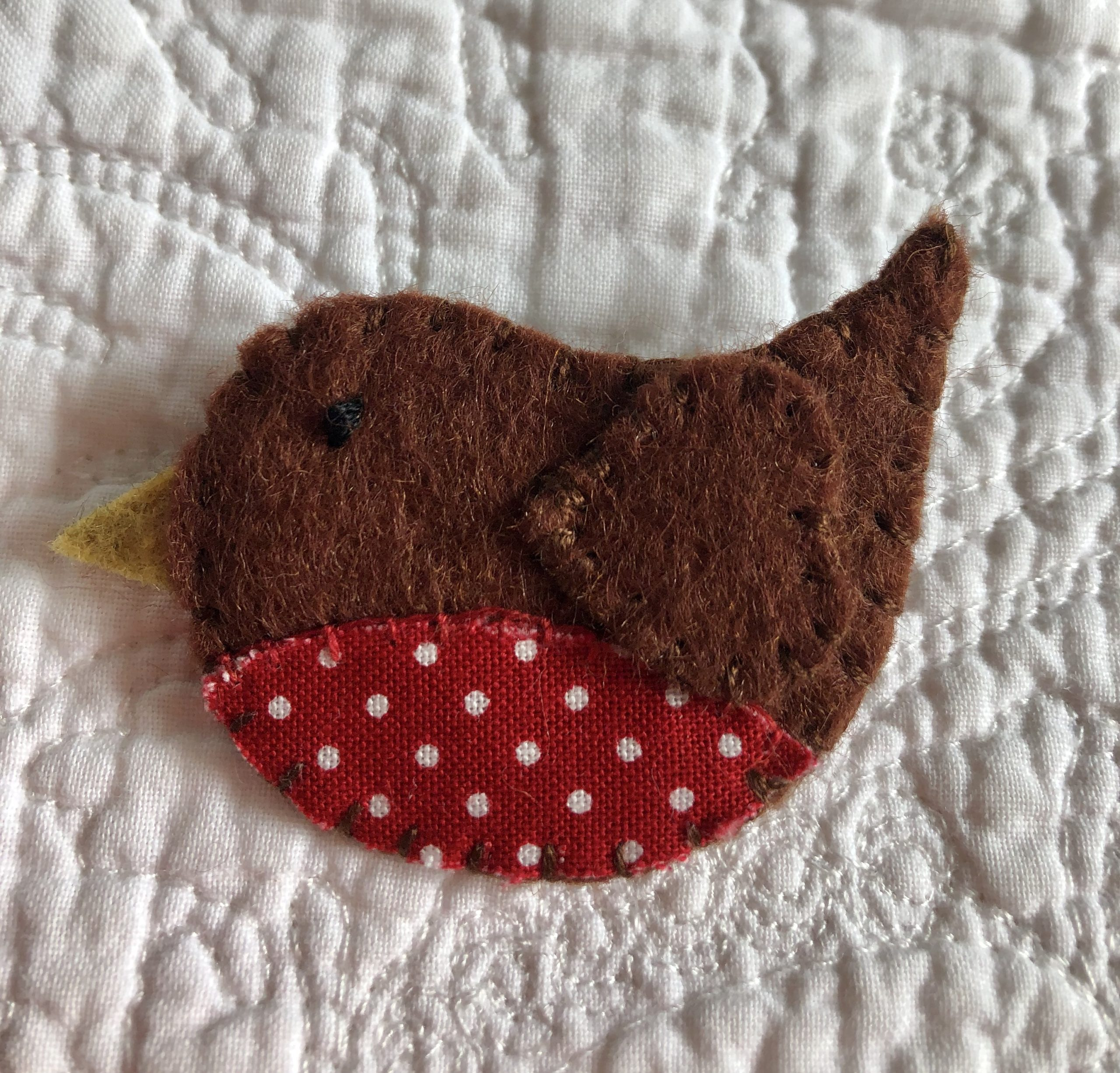 Little Robin Brooch.