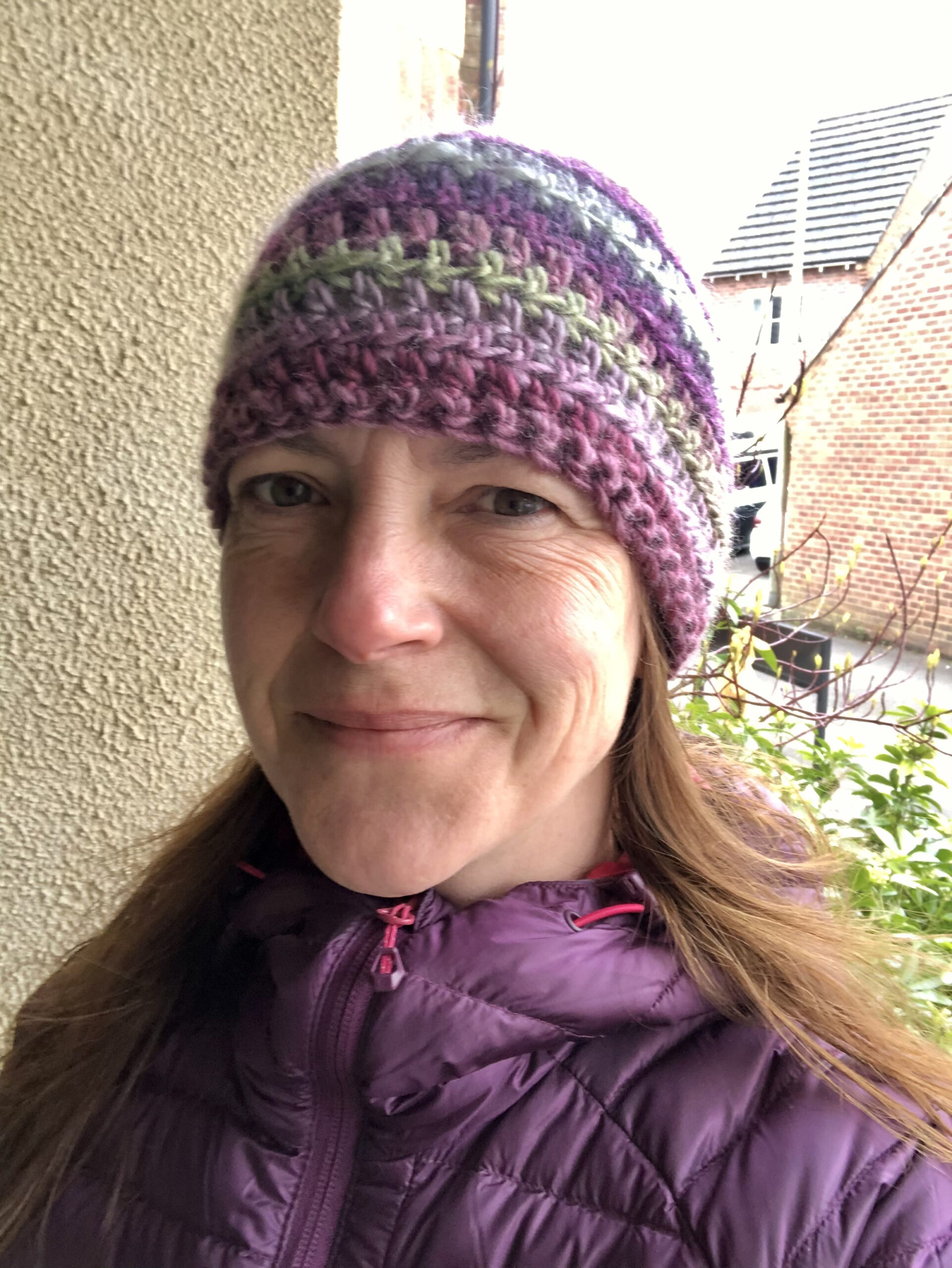 New Hat Selfie.