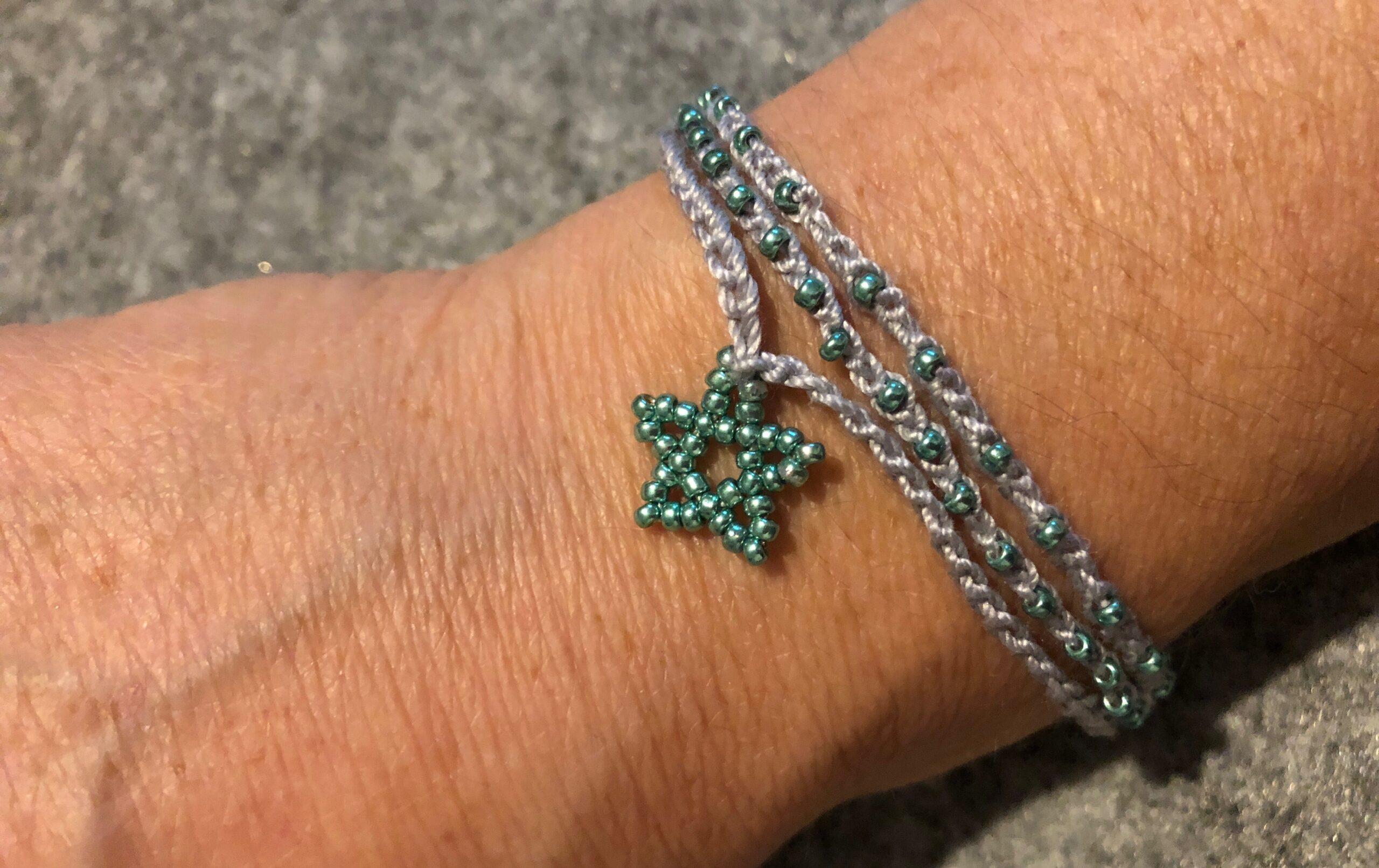 Tiny star bracelet.